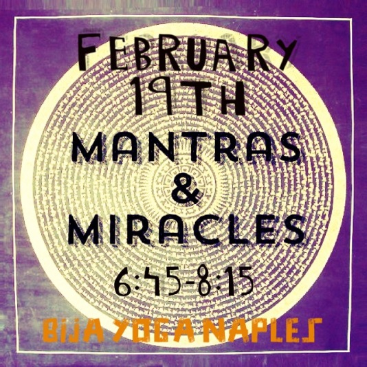 Mantras and miracles